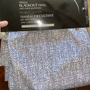 Other - Velour blackout panel